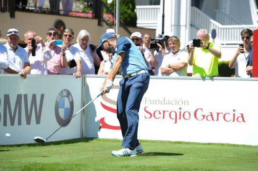 Sergio Garcia lud die internationale Golfelite zum Charity Event Sergio & Friends nach Bad Ragaz. (Bild: Grand Resort Bad Ragaz AG)